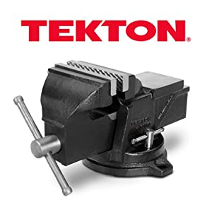 TEKTON 4 Inch Swivel Bench Vise | 54004