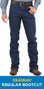 Wrangler Boot Cut Jean Regular Fit 0945NAV
