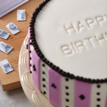 cake boss decorating fondant stamp