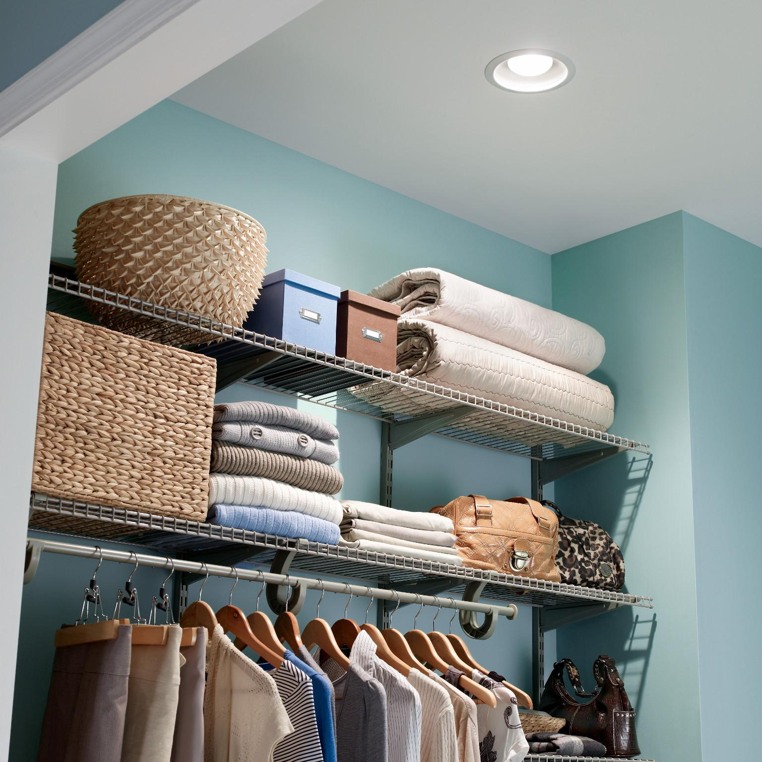 Broan 744 Recessed Bulb Fan And Light 70 Cfm 75 Watt Built In Lights N Wiring Diagram Lifestyle Image Blue Closet