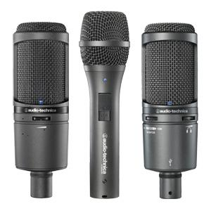 podcasting microphones, voice over microphones, field recording microphone, home studio microphone