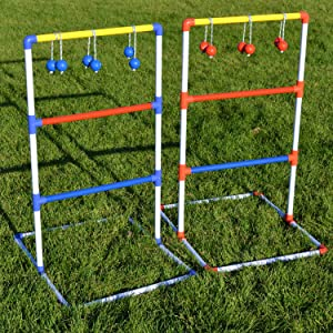 Game with 6 Bolos and Carrying Case : Ladder Golf : Sports & Outdoors