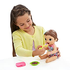 Amazon Com Baby Alive Super Snacks Snackin Lily