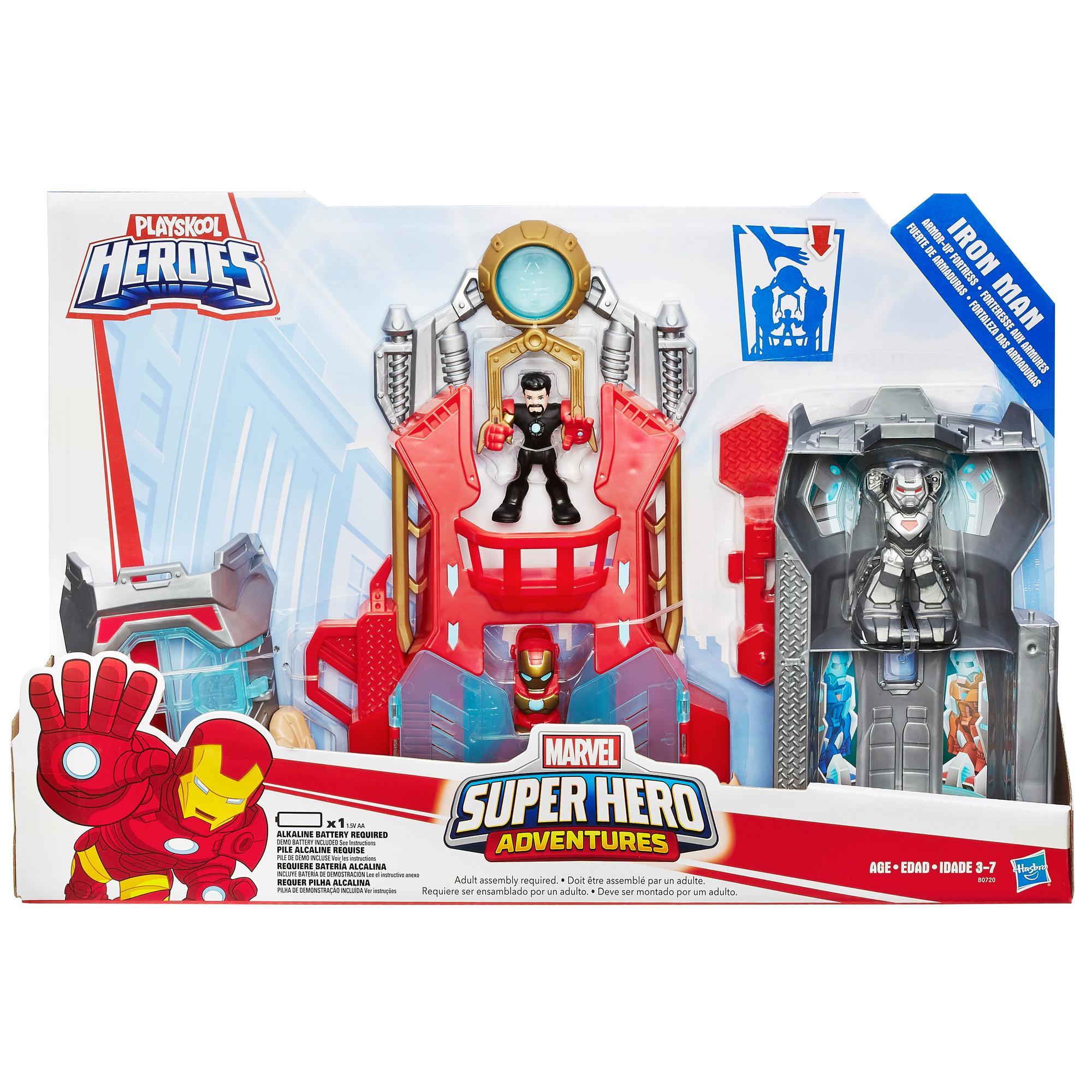 Toys And Adventures : Amazon playskool heroes marvel super hero adventures