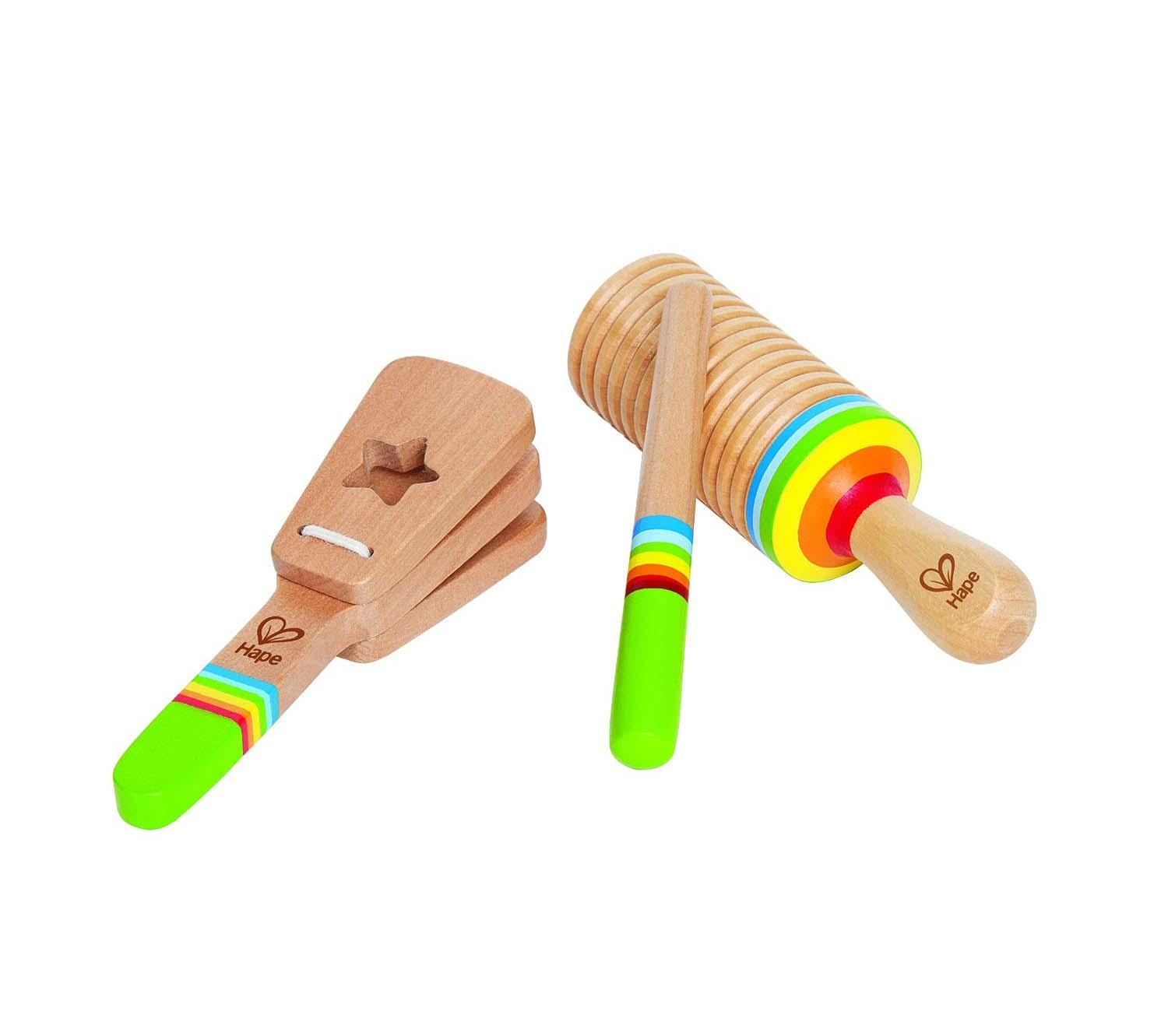 Wooden Musical Toys : Amazon hape vibrant guitar kid s toddler wooden