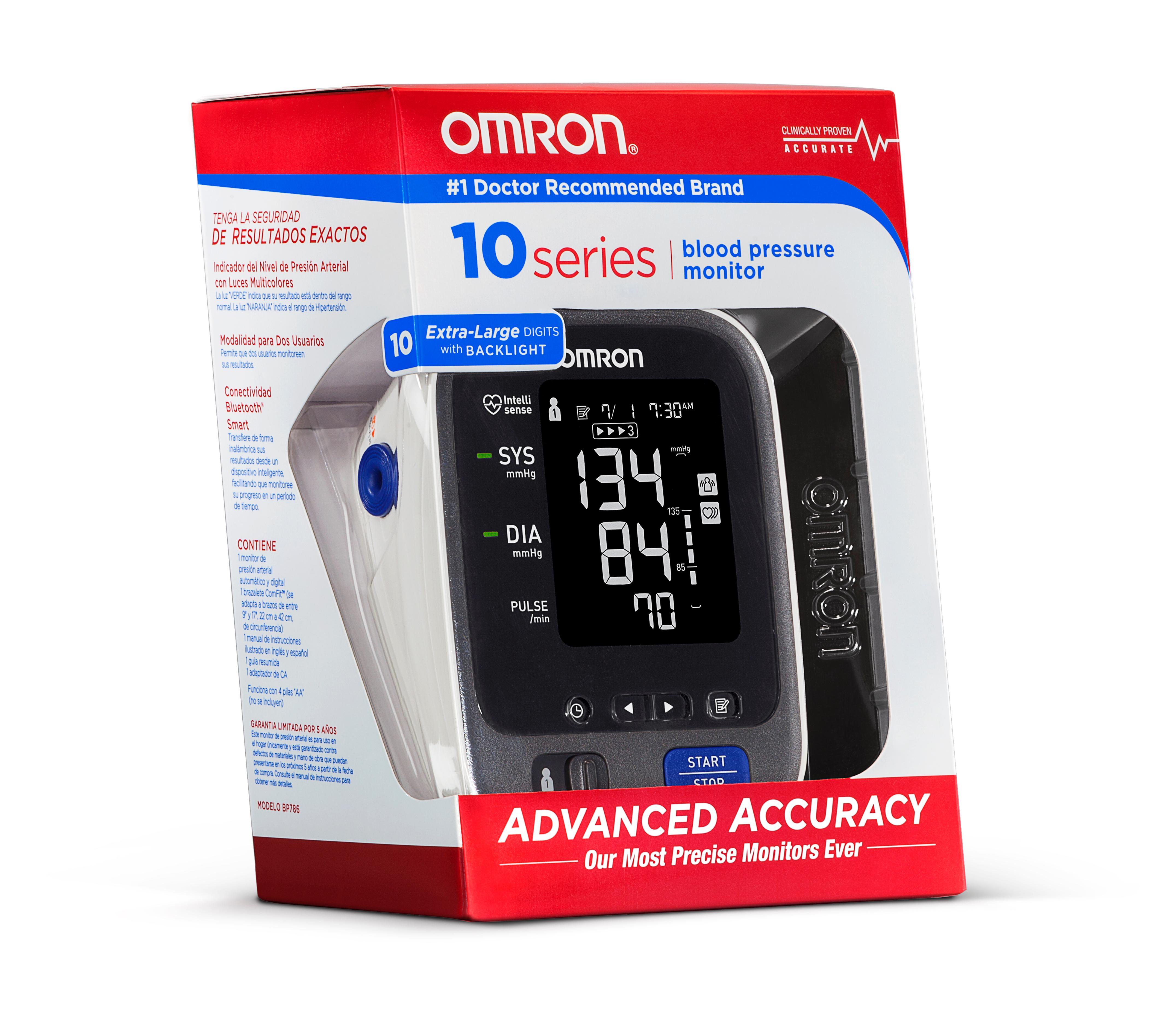Omron Bp785 10 Series Home Blood Pressure Monitor Manual Guide