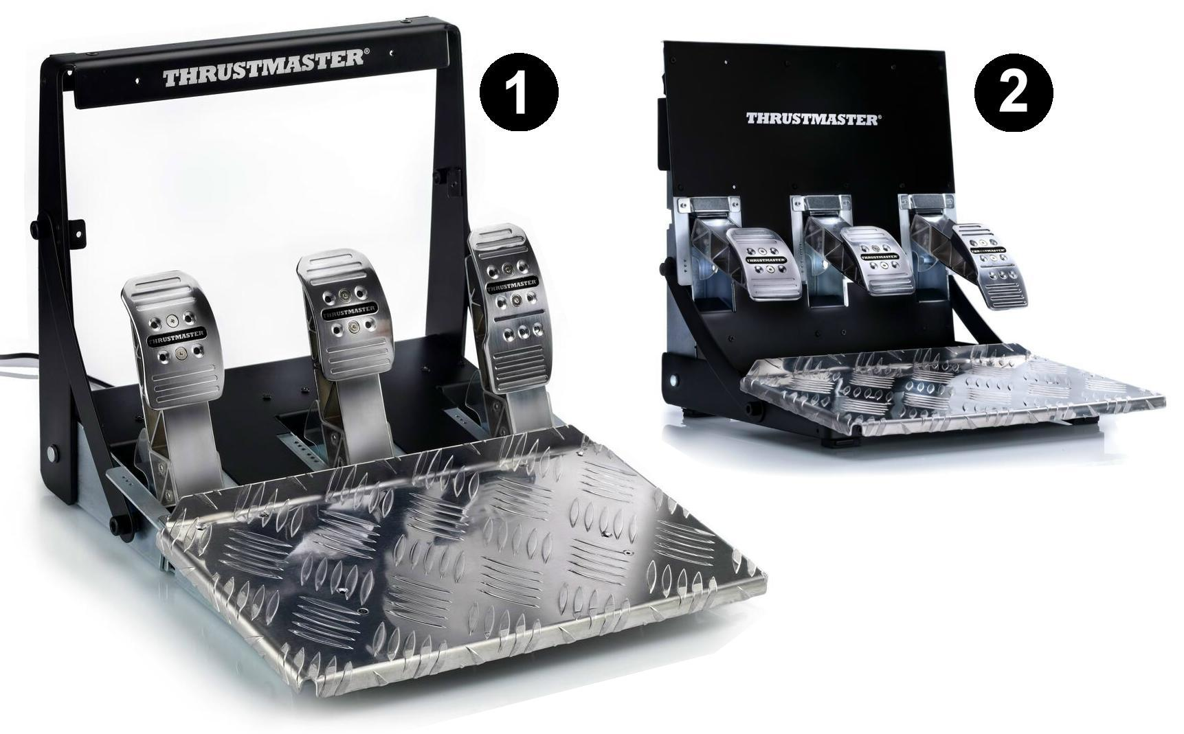 thrustmaster vg t3pa pro 3 pedal add on set. Black Bedroom Furniture Sets. Home Design Ideas