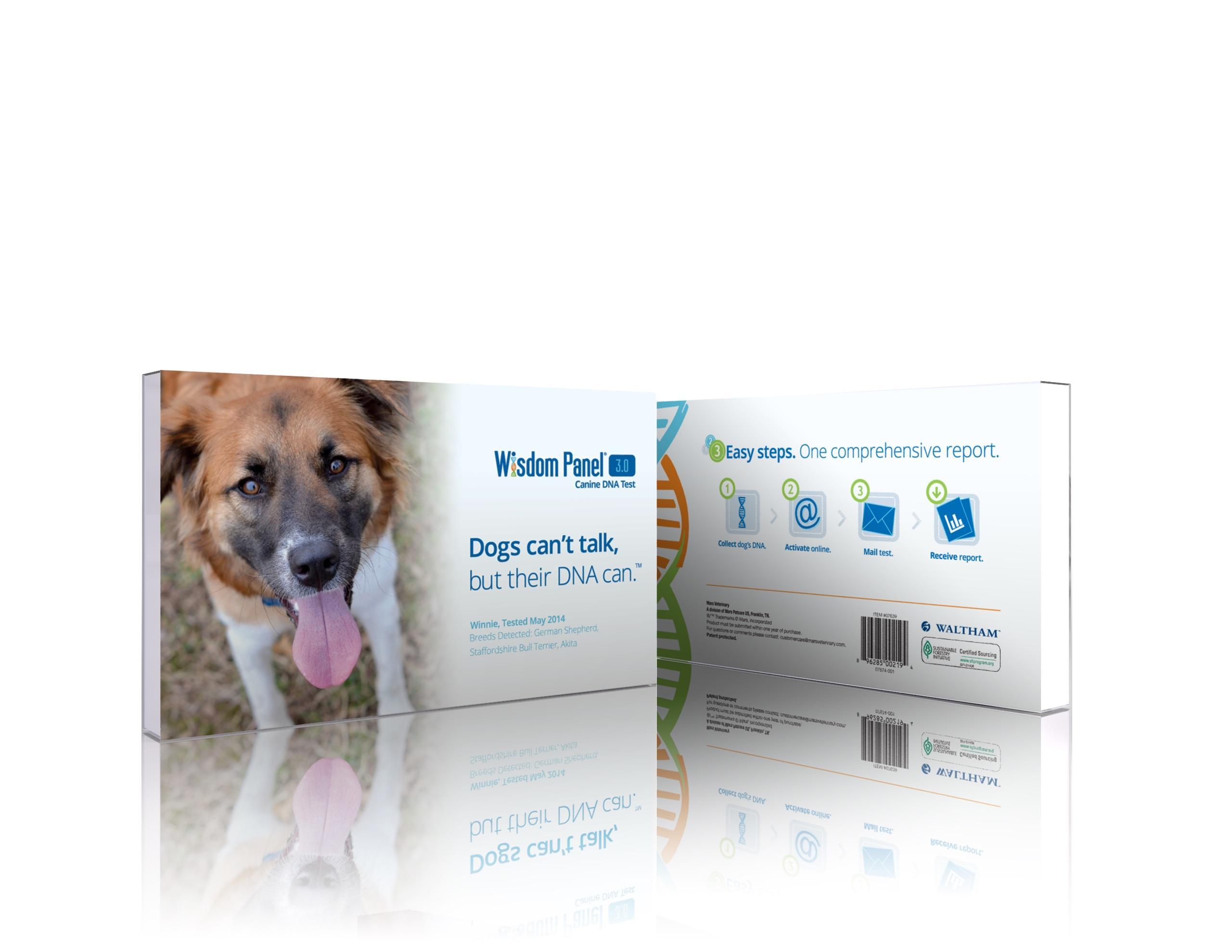 mars veterinary wisdom panel 3 0 breed identification dna test kit pet supplies. Black Bedroom Furniture Sets. Home Design Ideas