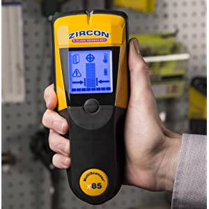 Stud finder, wall scanner, x85, Deep Scan, Zircon, Center Finding, AC Mode, Thermal Scanner