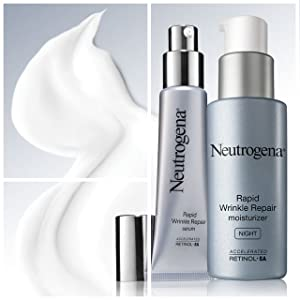 NEUTROGENA - Rapid Wrinkle Repair Product Line