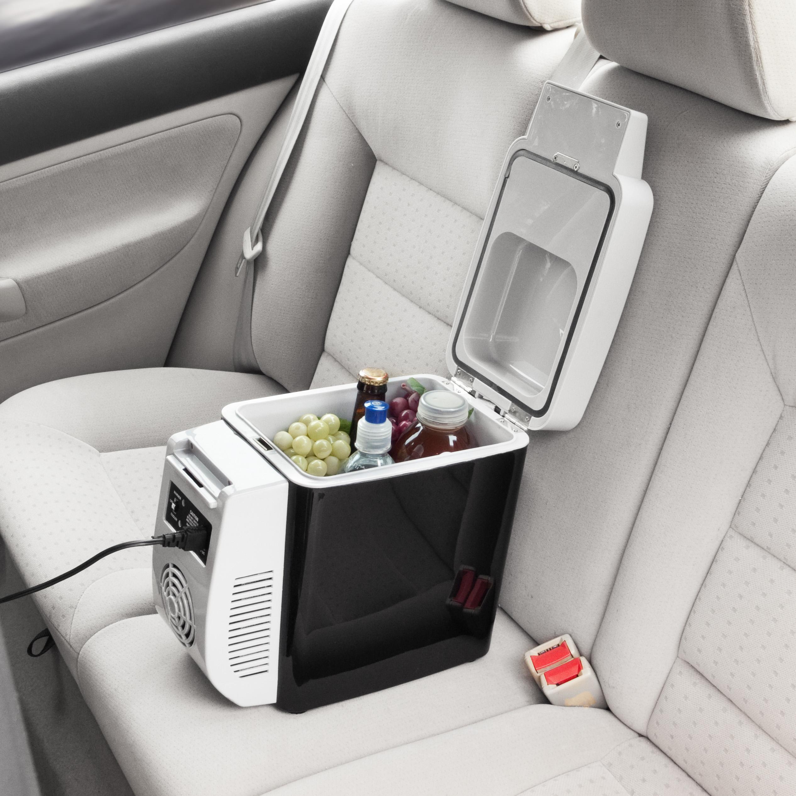 7L Portable Car Freezer Fridge 12V Ice Box Travel Cooler Warmer Car Refrigerator