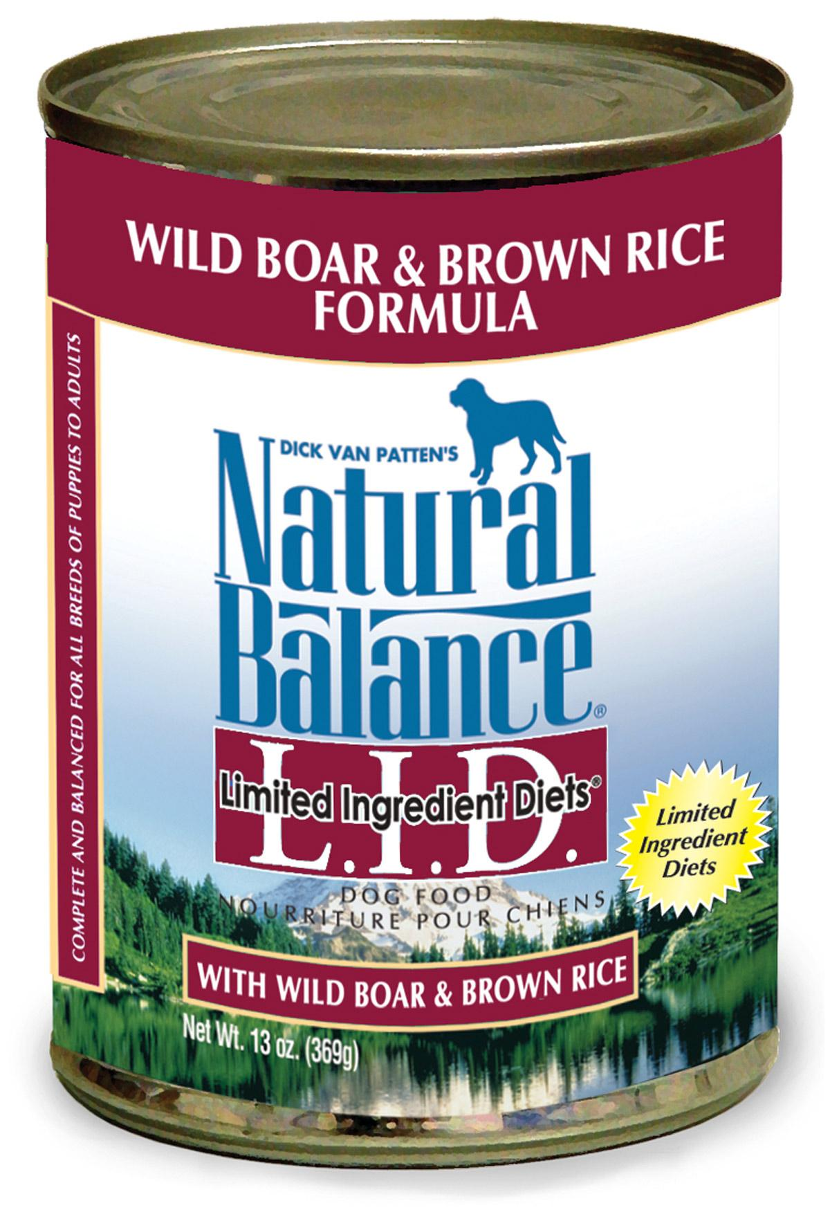 Dog Food Reviews Natural Balance Limited Ingredients