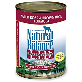 limited ingredient diet wet dog food wild boar and brown rice
