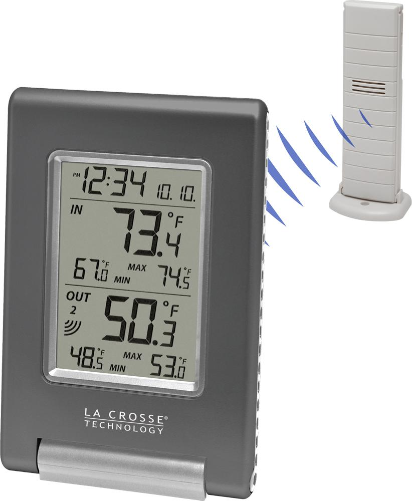la crosse technology ws 9080u it cbp wireless in out temperature station featuring. Black Bedroom Furniture Sets. Home Design Ideas