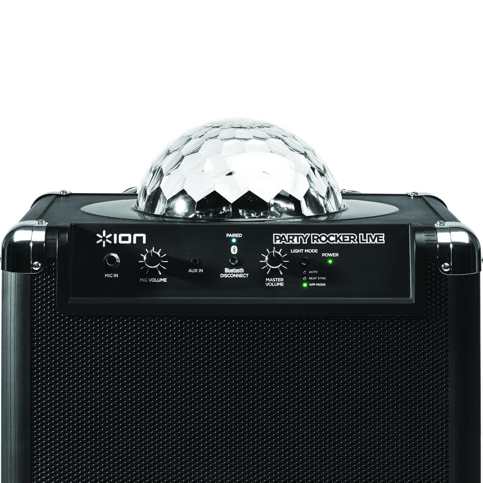 Amazon Com Ion Audio Party Rocker Live Bluetooth