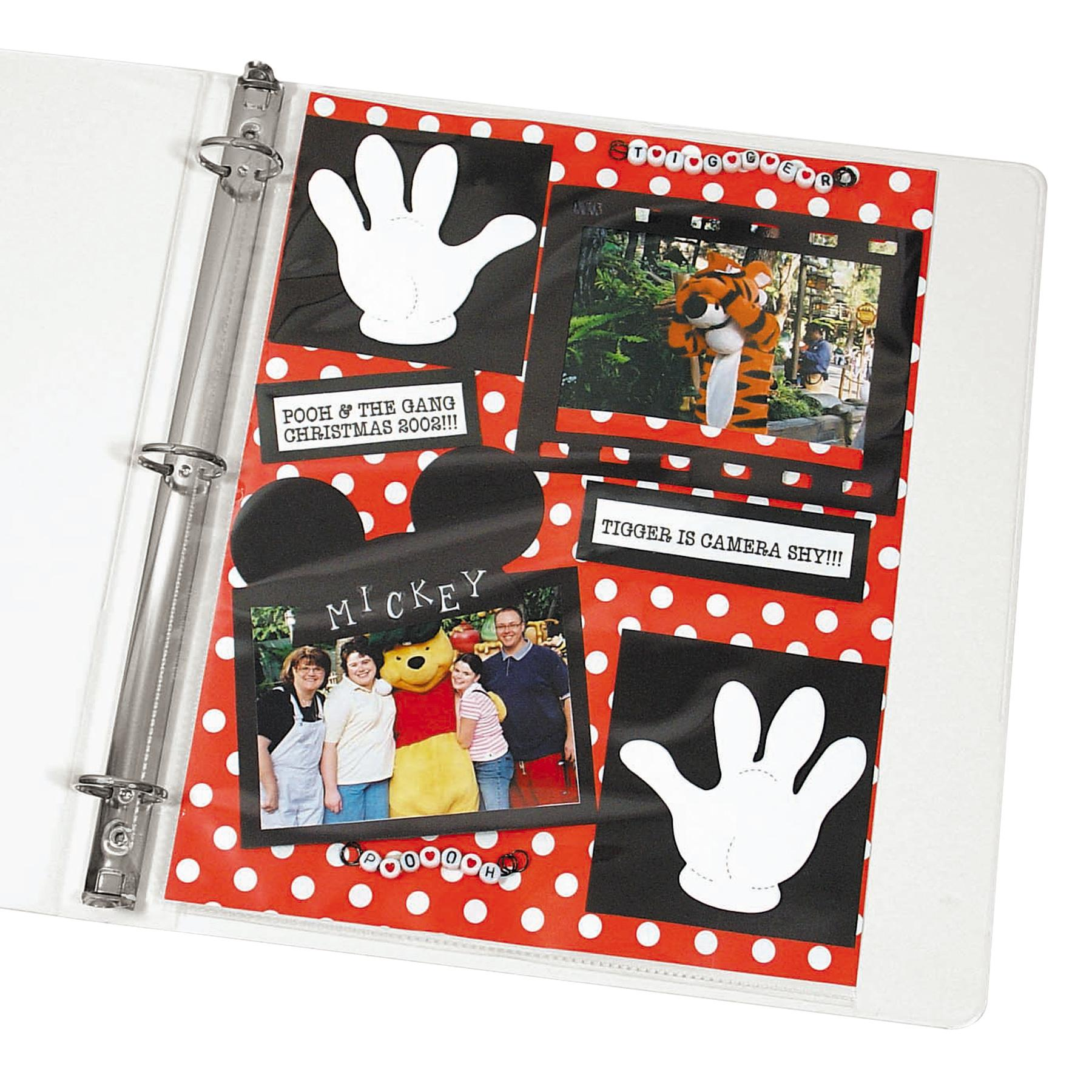 How to scrapbook without page protectors -  Scrapbook Page Protectors View Larger