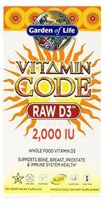 Vitamin Code RAW D3 2,000 IU