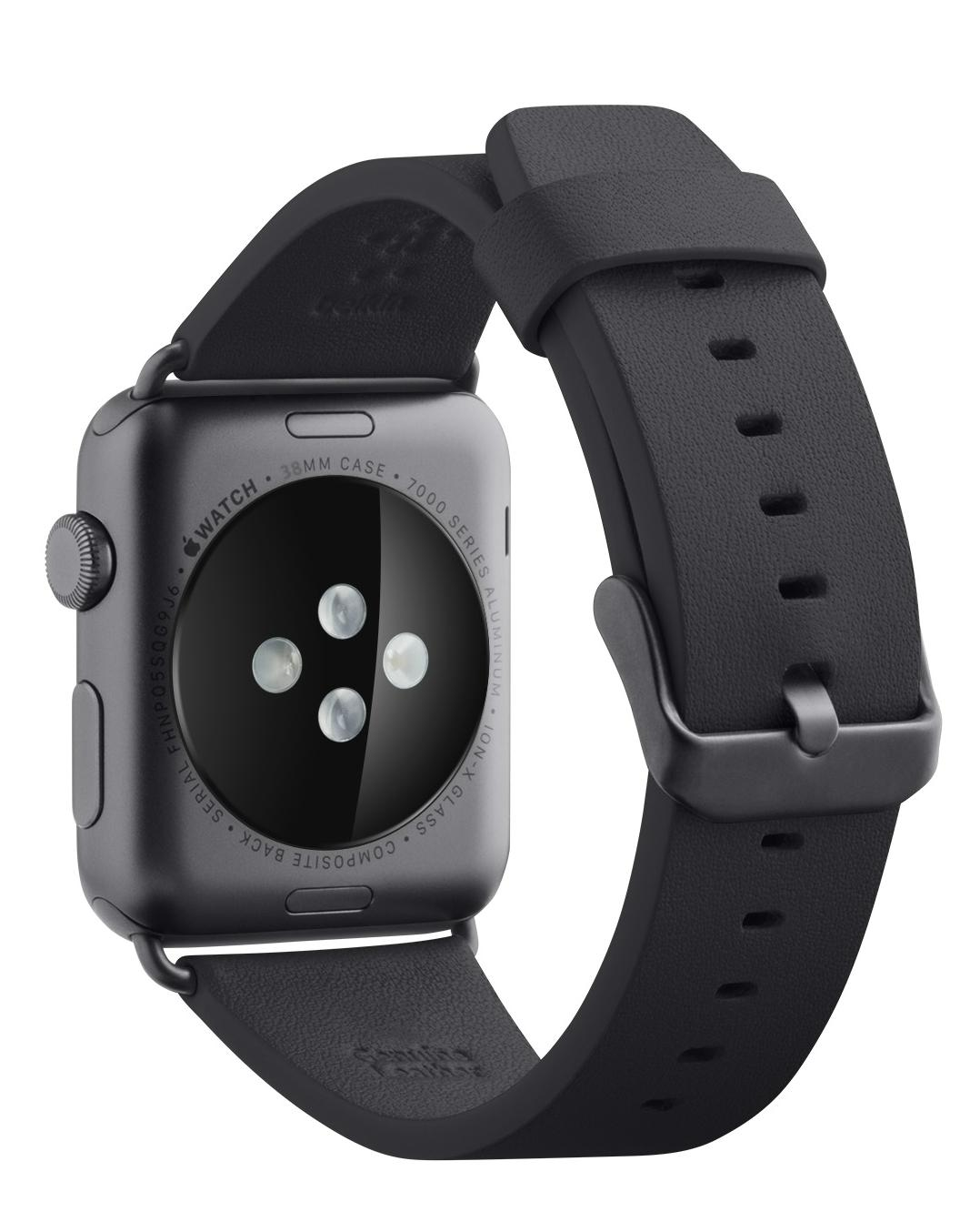 Amazon.com: Belkin Classic Leather Wristband for Apple