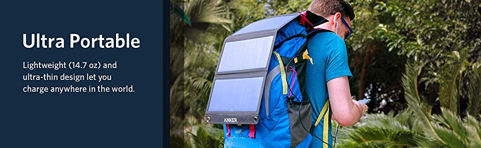 Anker 21W Dual USB Solar Charger