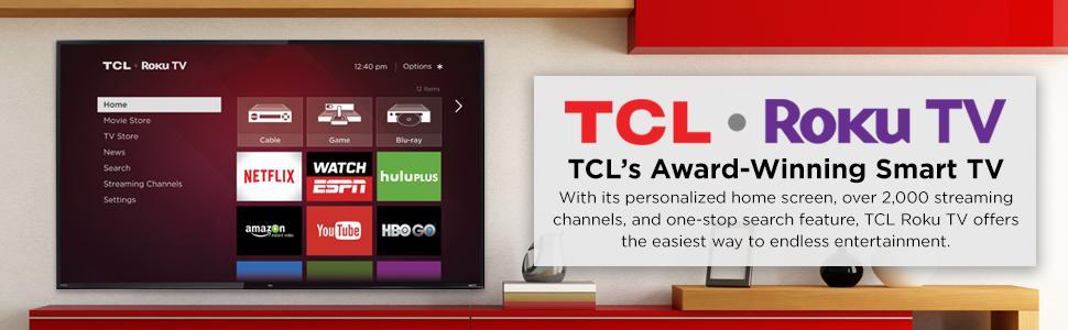 Amazon com: TCL 32S3700 32-Inch 720p Roku Smart LED TV (2015 Model
