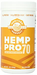 hemp protein powder omega 3 6