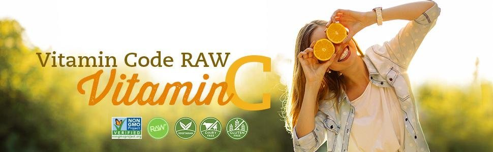 vitamin code raw vitamin c Immune system support healthy heart skin eyes digestion