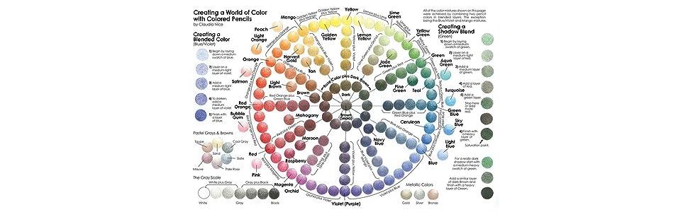 Crayola - Colored Pencils (50 count) - Color Wheel