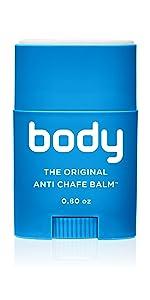 body, body glide, bodyglide, balm, rubbing, blister, chafing