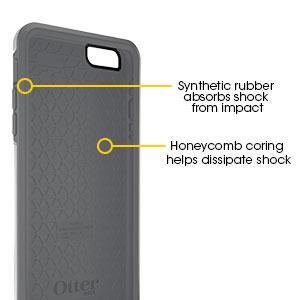 otterbox iphone 6 plus case symmetry shock absorbing interior