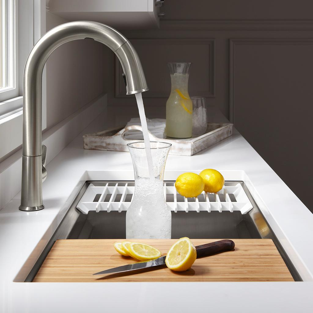 Kohler K 5540 Na Prolific Undermount Single Bowl Kitchen