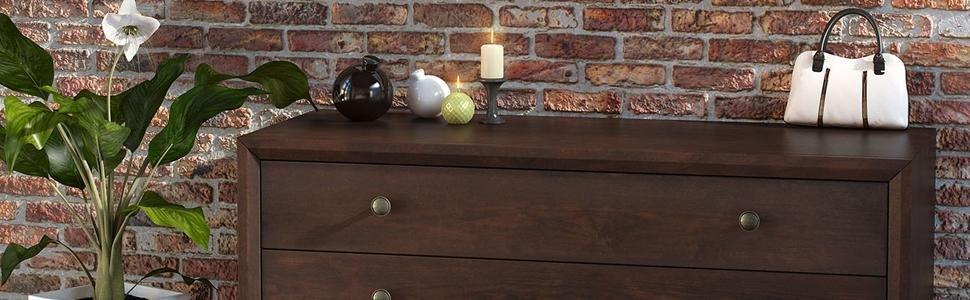 Amazon.com: Base de cama Modway Tracy de madera, color beige ...
