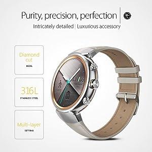 Amazon.com: ASUS WI503Q-SL-BG ZenWatch 3 1.39-Inch Amoled ...