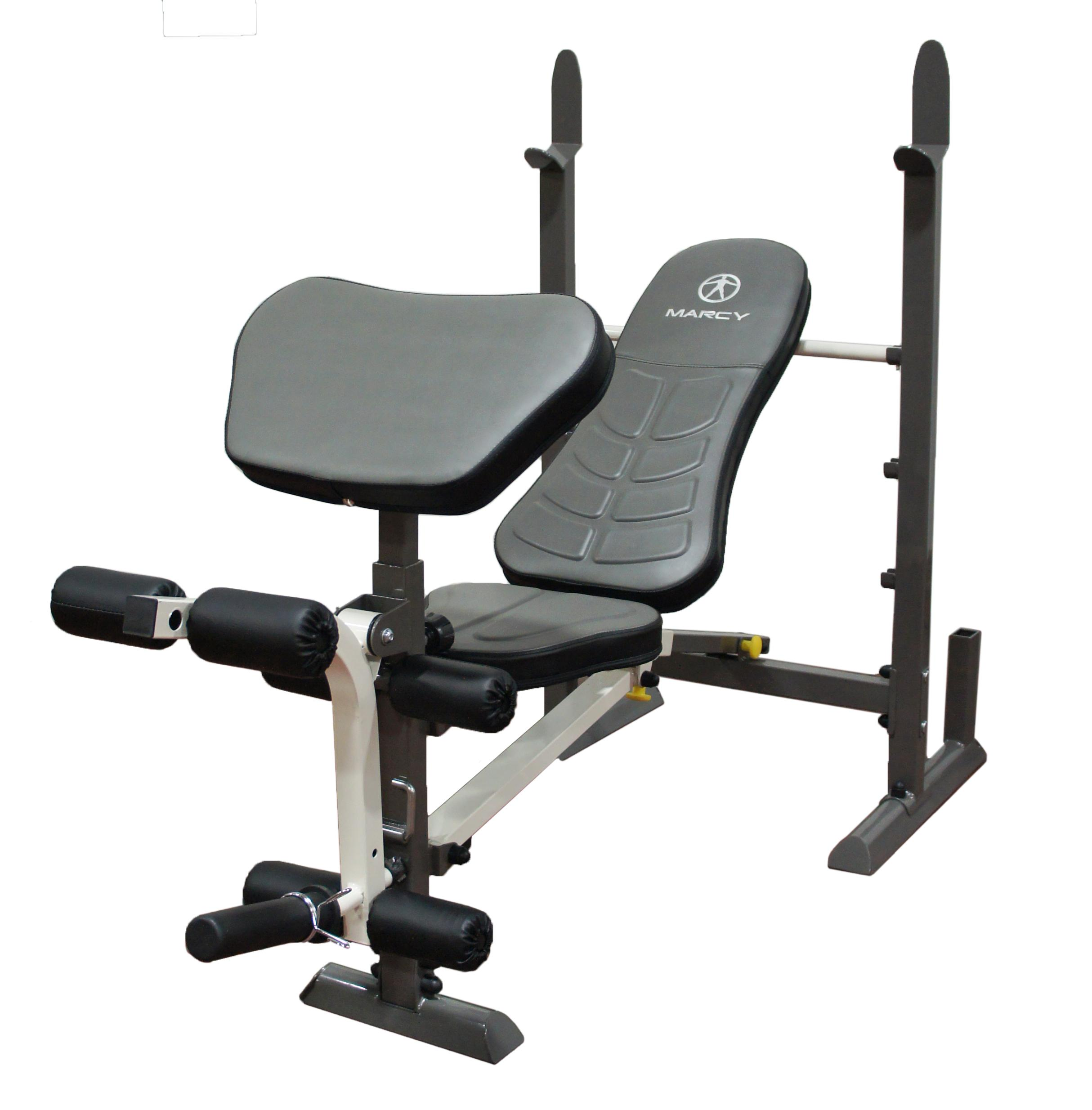 Marcy folding standard weight bench easy Bench weights