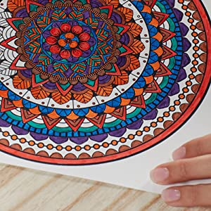 Enjoy hours of calming and creative fun with a set of adult coloring book markers