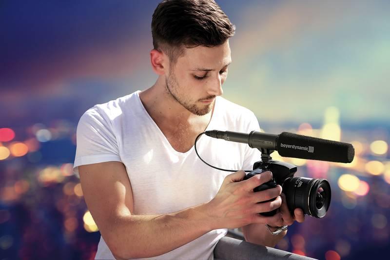 Amazon Com Beyerdynamic Mce 85 Ba Shotgun Microphone