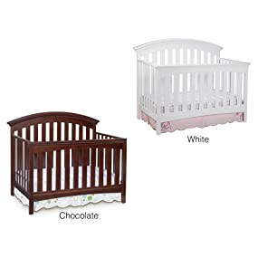 Amazon Com Delta Children Bentley 4 In 1 Crib Chocolate