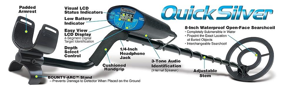 Quick Silver Metal Detector