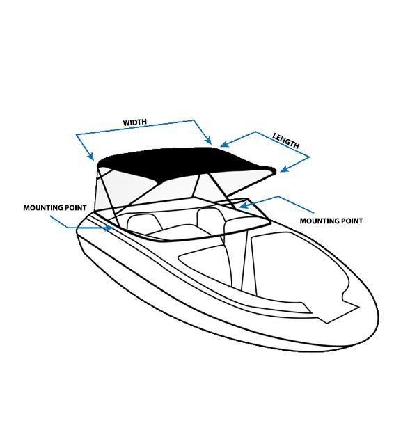 Amazon Com Komo Covers Boat Bimini Top Cover With Boot