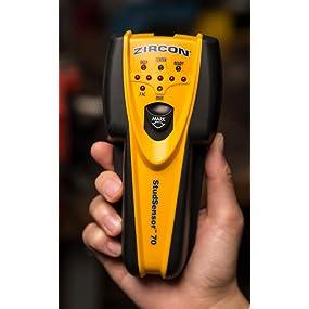 zircon, studfinder, stud finder, wall scanner, TV mount, tools, metal finder, metalscanner, detector