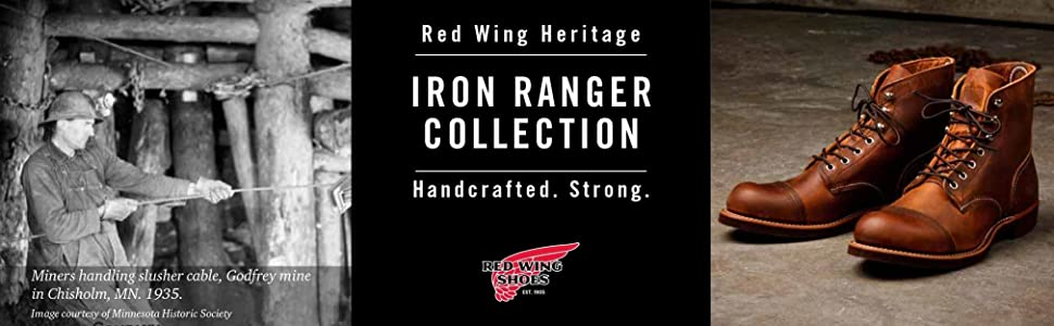made in usa, red wing boots, red wing, red wing heritage, iron ranger, made in usa boots, made in us