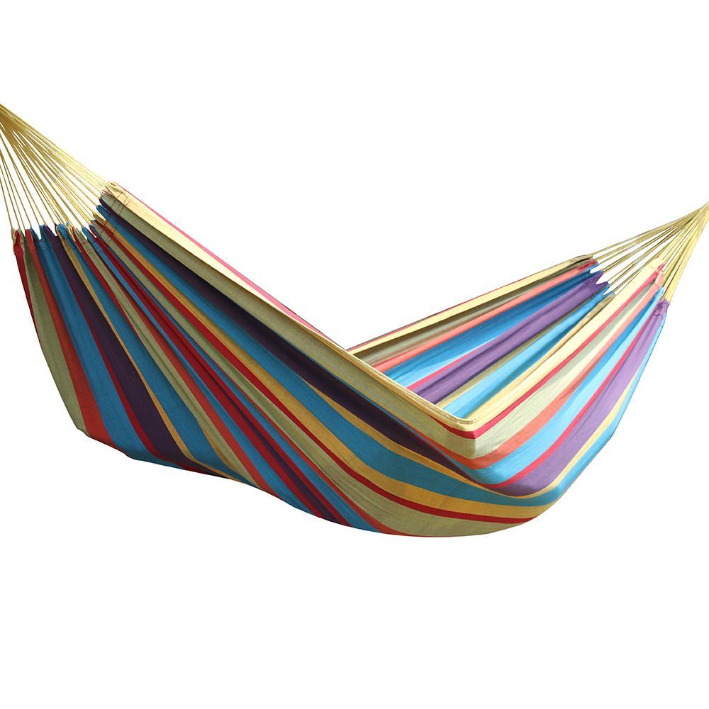 Amazon vivere brazilian style double hammock oasis