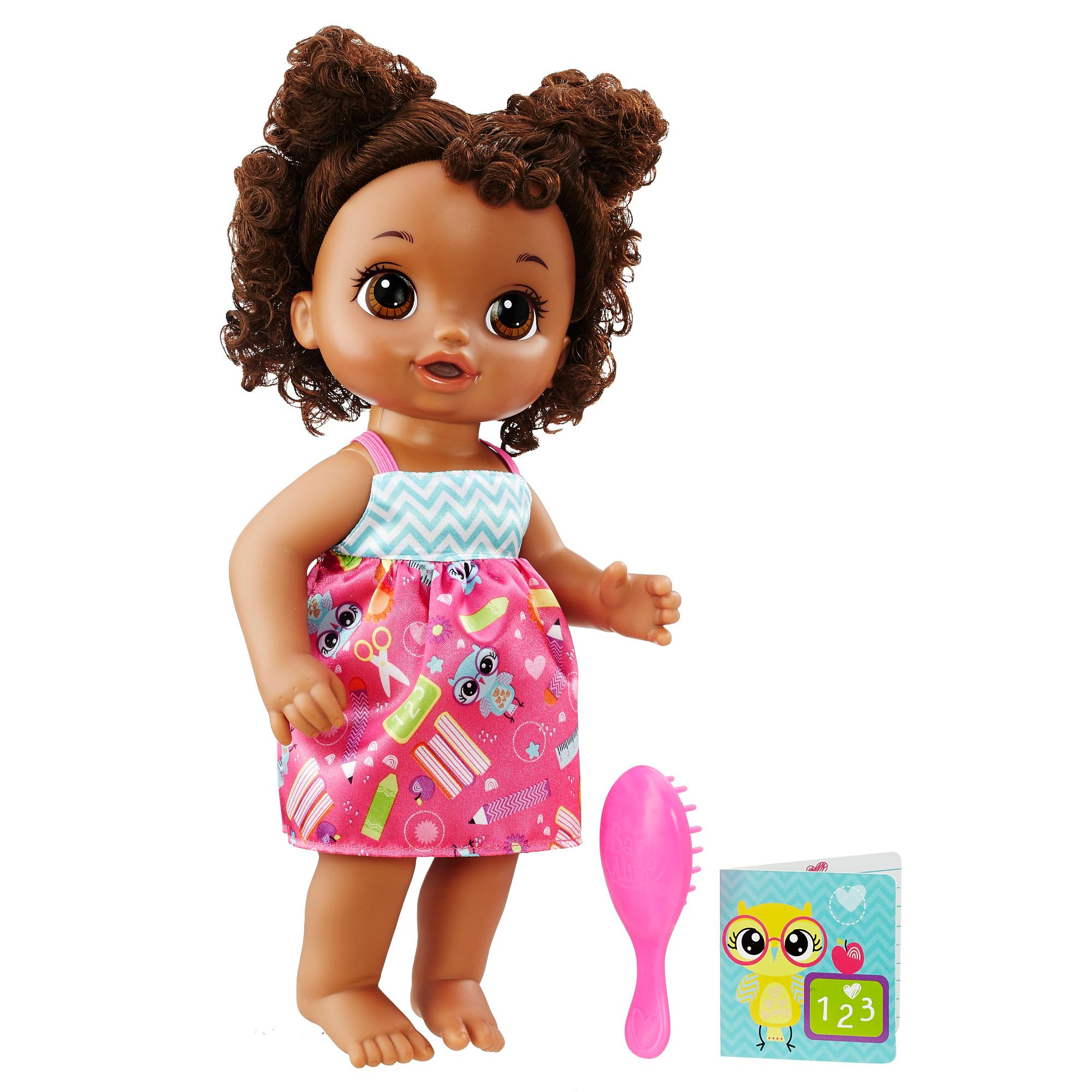 Amazon.com: Baby Alive Ready For School Baby (African