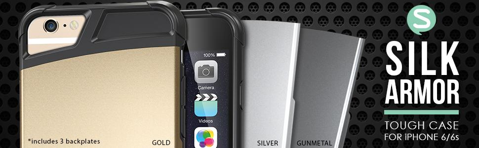 iPhone 6 and 6s case - Military grade protection - ruggedized durable cover