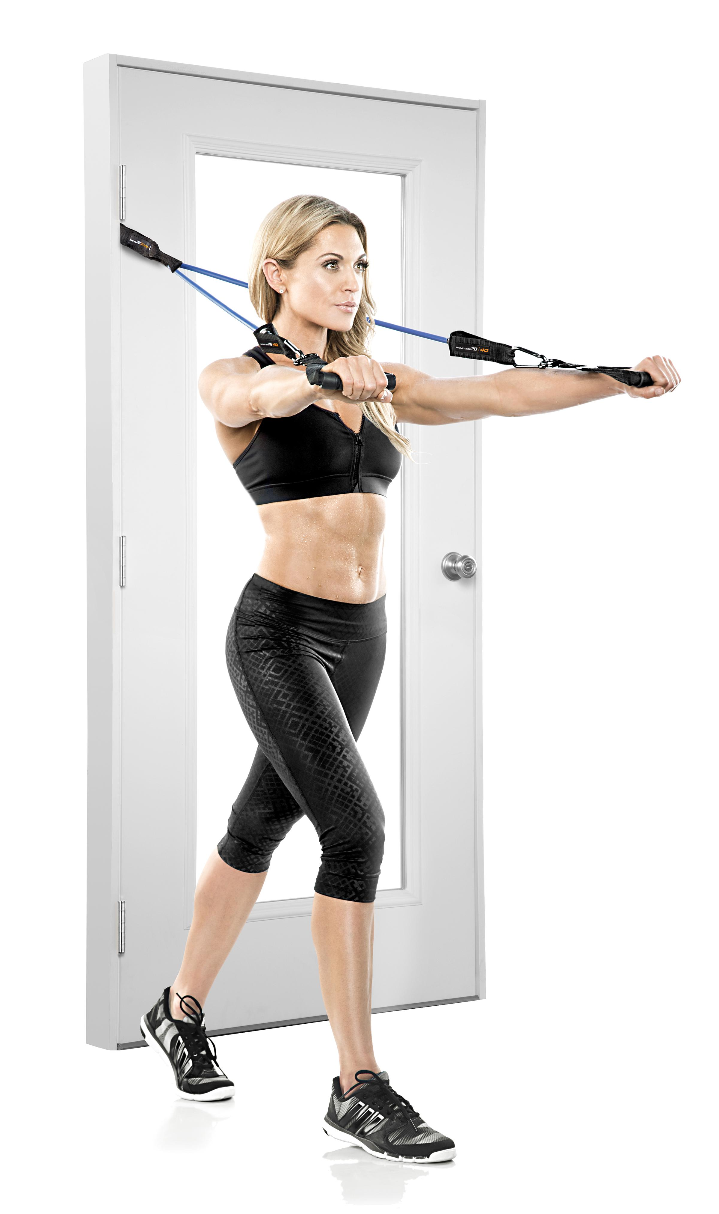 View larger  sc 1 st  Amazon.com & Amazon.com : Bionic Body Door Anchor Exercise Strap Black ...