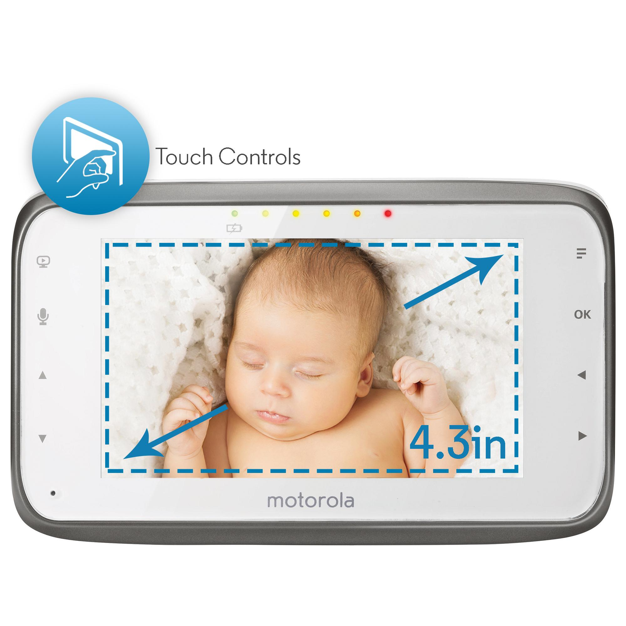 Amazon.com : Motorola MBP854CONNECT Dual Mode Baby Monitor