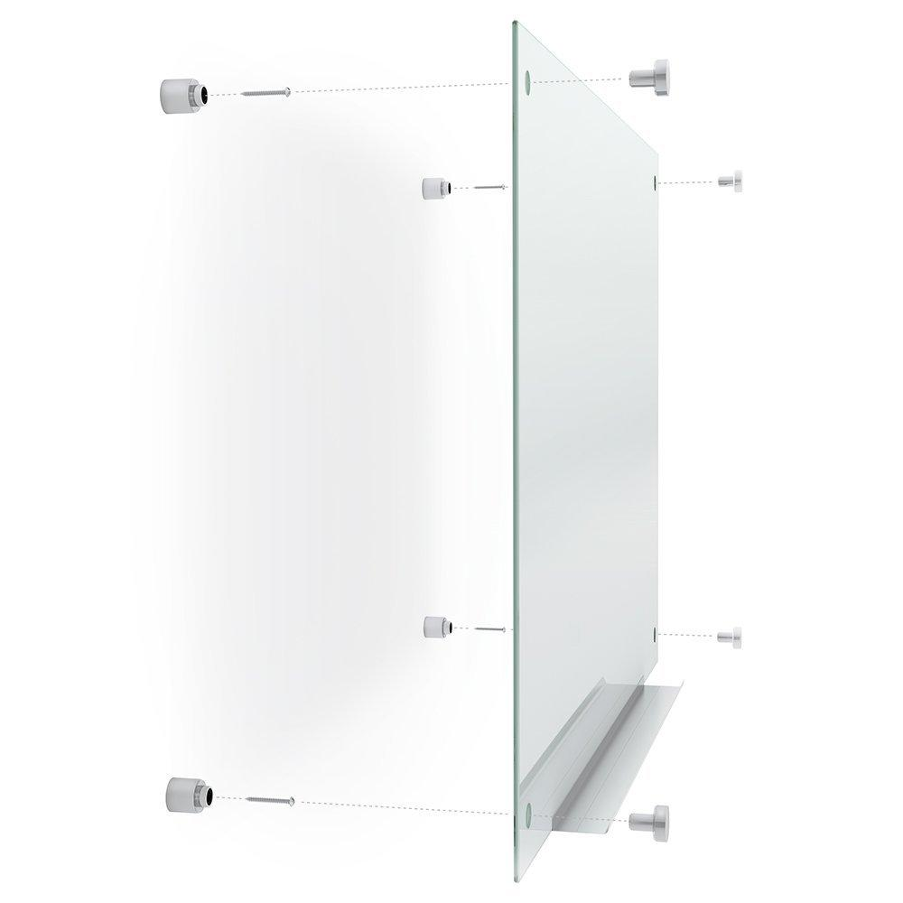 Amazon.com : Quartet Glass Dry Erase Board, Whiteboard ...