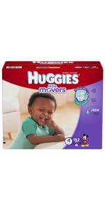 What is the best diaper for active babies? Huggies Little Movers diapers can help.