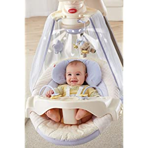 Amazon Com Fisher Price Papasan Cradle Swing Starlight