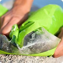 Scrubba Wash Bag has high quality components and lasts long.