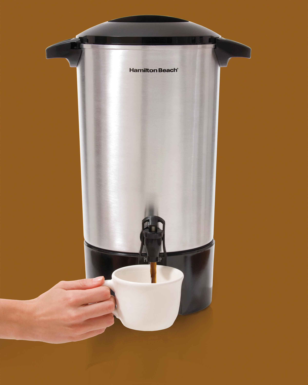 a3d09d97 ec04 4369 9f35 e7702dd23659.jpg. CB333019175  Hamilton Beach D Commercial  Cup Stainless Steel Coffee Urn
